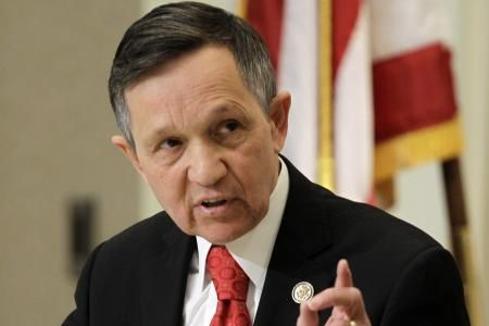 Ohio Democratic Representative Dennis Kucinich