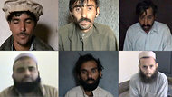 Pakistan militants punish accused informers aiding drone attacks by taping their confessions and executions.