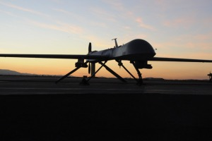 A U.S. Air Force MQ-1 Predator unmanned aerial vehicle. The U.S. is conducting drone strikes in in at least three countries beyond Iraq and Afghanistan. (U.S. Air Force photo by Master Sgt. Stanley Thompson)