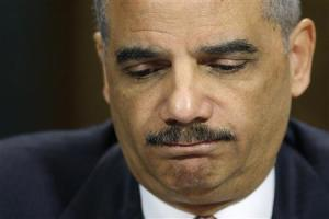 U.S. Attorney General Eric Holder pauses during testimony before the Senate Judiciary Committee on Capitol Hill in Washington, March 6, 2013. Credit: Reuters/Jonathan Ernst