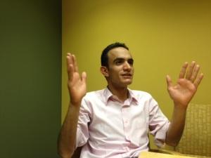 Farea al-Muslimi just wants the U.S. drone strikes in his home country of Yemen to stop. Photo courtesy of Farea al-Muslimi